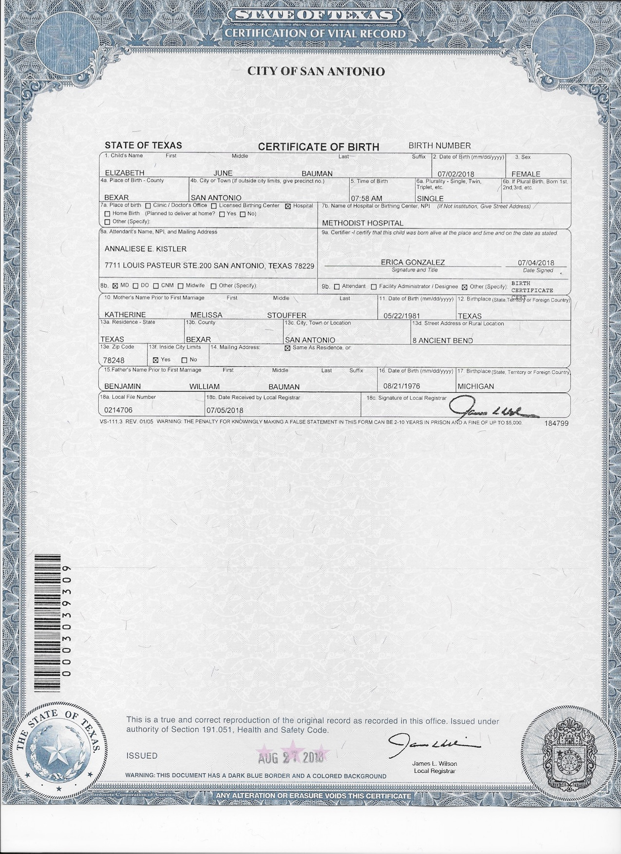 Ejb Birth Certificate Copy St Francis Of Assisi