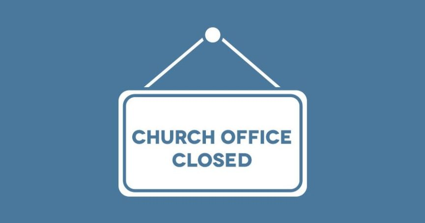 Church Office Closed For Christmas 2020 church office closed 865×455 | St. Francis of Assisi